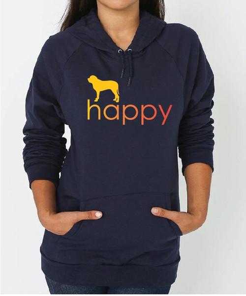 Righteous Hound - Unisex Happy Mastiff Hoodie