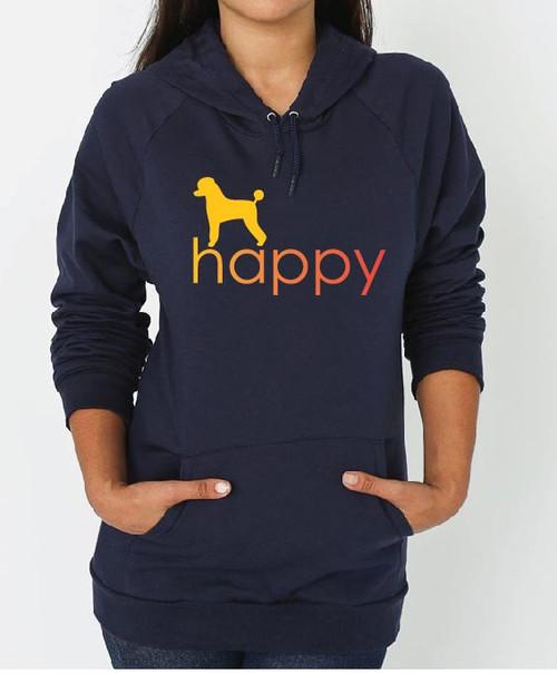 Poodle Happy Hoodie