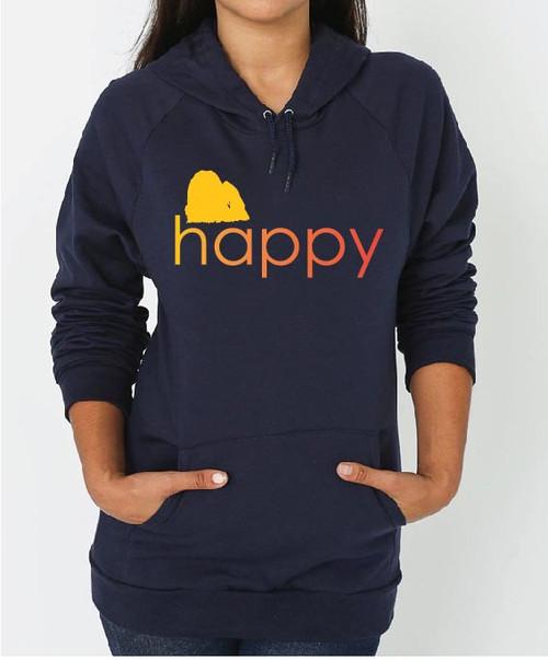 Righteous Hound - Unisex Happy Maltese Hoodie