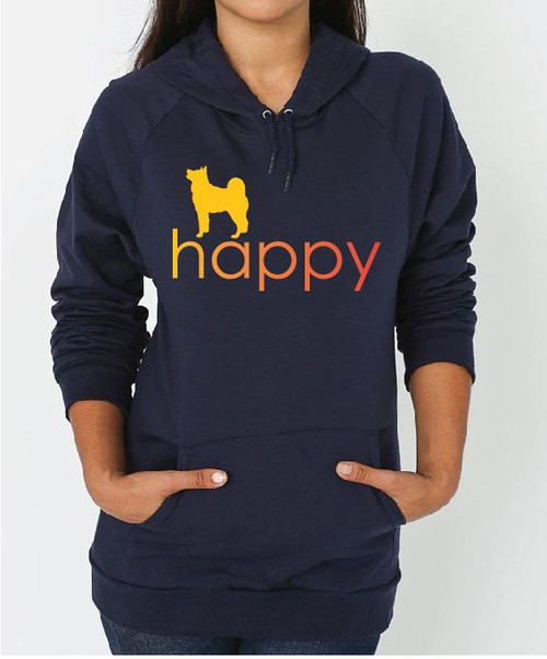 Righteous Hound - Unisex Happy Akita Hoodie