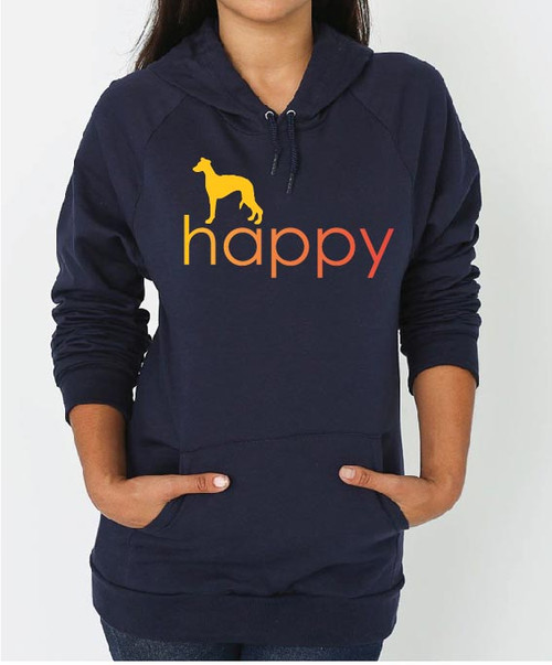 Righteous Hound - Unisex Happy Whippet Hoodie