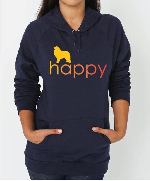 Righteous Hound - Unisex Happy Great Pyrenees Hoodie