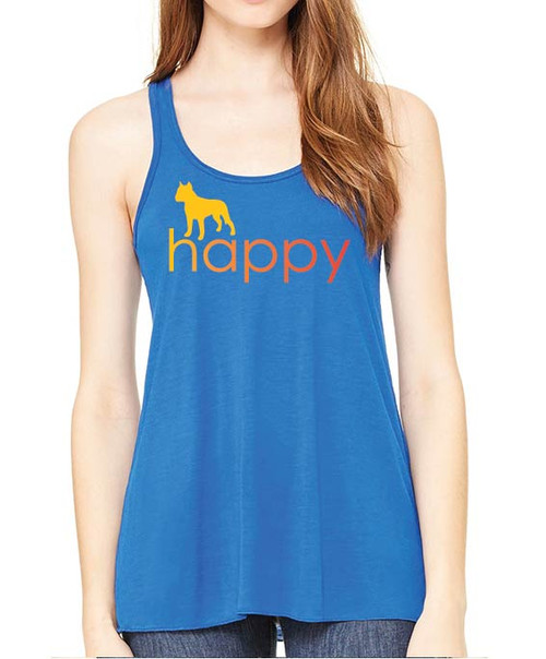 Righteous Hound - Flowy Happy Staffordshire Terrier Tank