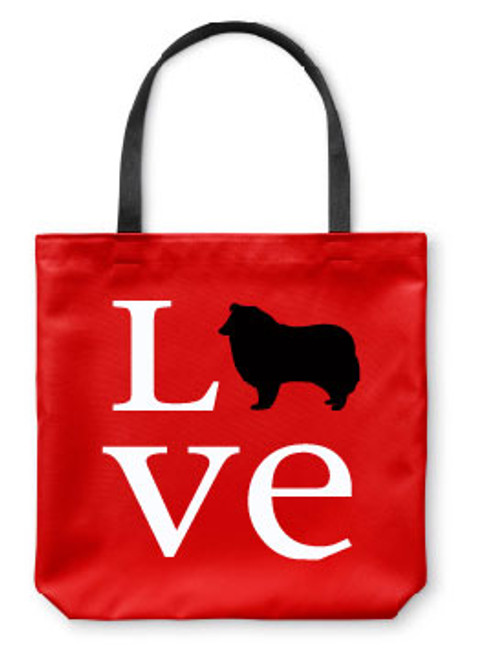 Righteous Hound - Love Collie Tote Bag