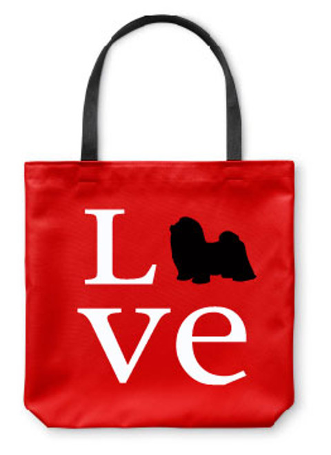Righteous Hound - Love Shih Tzu Tote Bag