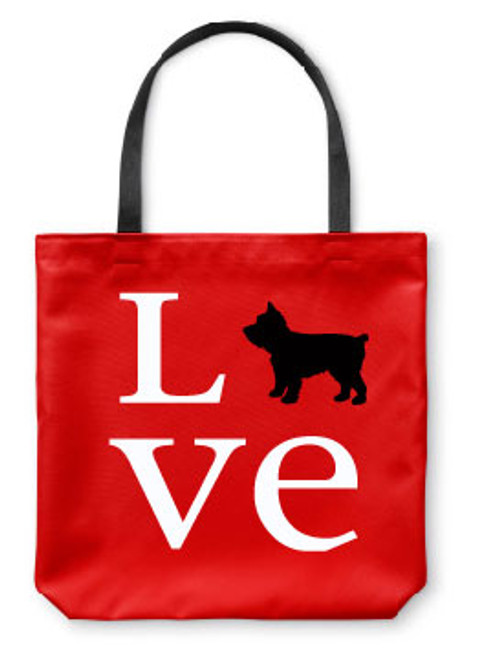 Righteous Hound - Love Yorkie Tote Bag