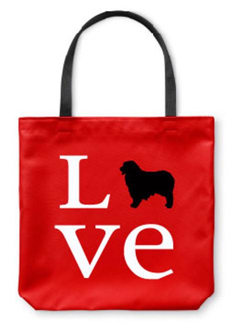 Righteous Hound - Love Australian Shepherd Tote Bag