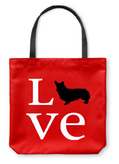 Righteous Hound - Love Corgi Tote Bag