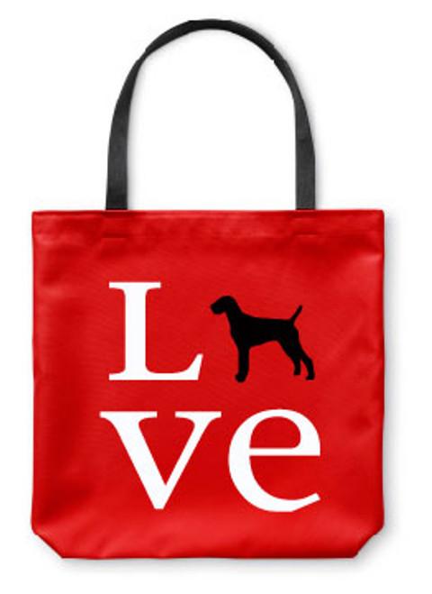 Righteous Hound - Love Vizsla Tote Bag