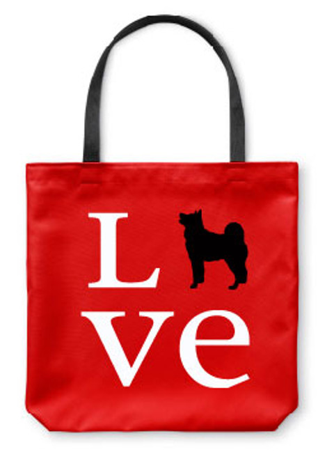 Righteous Hound - Love Akita Tote Bag