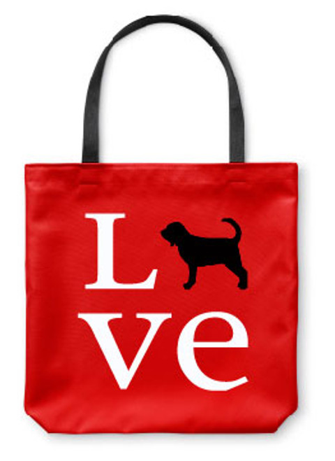 Righteous Hound - Love Bloodhound Tote Bag