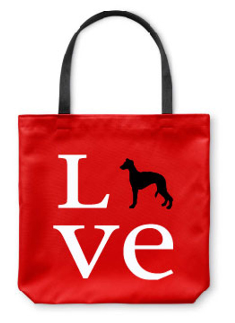 Righteous Hound - Love Whippet Tote Bag