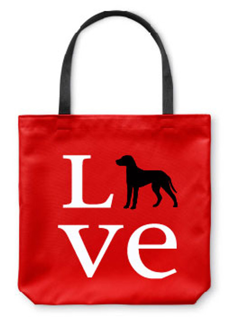 Righteous Hound - Love Dalmatian Tote Bag