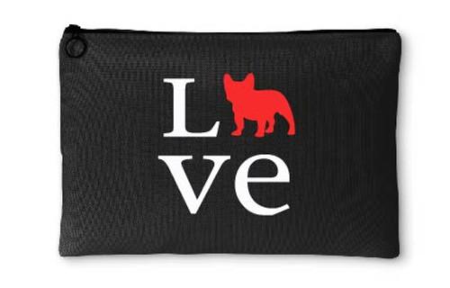 French Bulldog Love Accessory Pouch