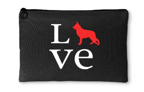 German Shepherd Love Accessory Pouch