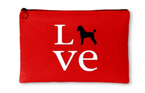 Righteous Hound - Love Poodle Accessory Pouch