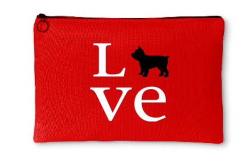 Righteous Hound - Love Yorkie Accessory Pouch