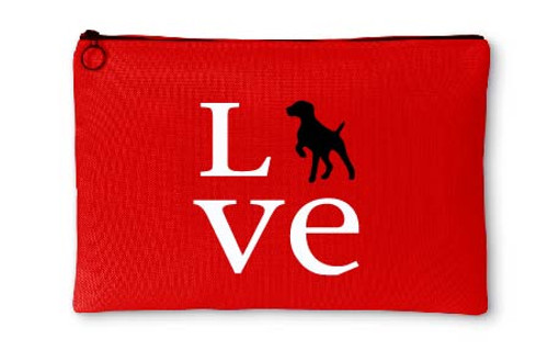 Righteous Hound - Love German Shorthaired Pointer Accessory Pouch
