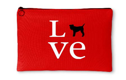 Righteous Hound - Love Schnauzer Accessory Pouch