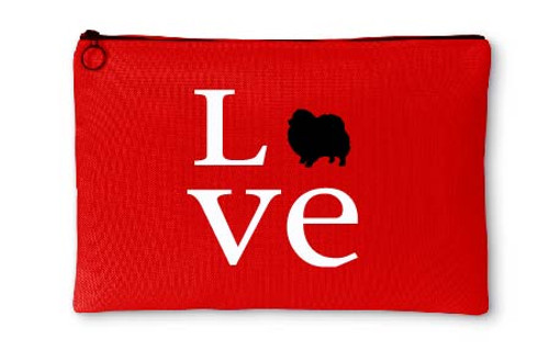Righteous Hound - Love Pomeranian Accessory Pouch