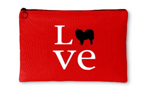 Righteous Hound - Love Samoyed Accessory Pouch