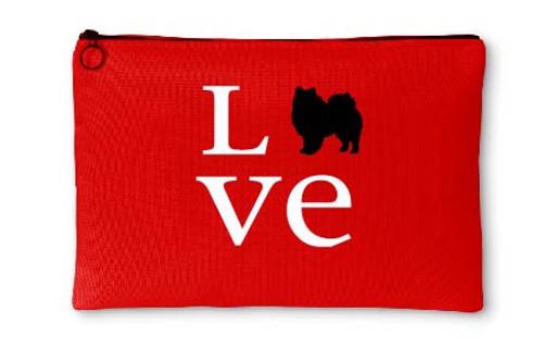 Righteous Hound - Love American Eskimo Dog Accessory Pouch