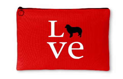 Righteous Hound - Love Border Collie Accessory Pouch