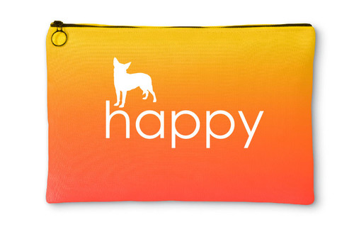 Righteous Hound - Happy Chihuahua Accessory Pouch