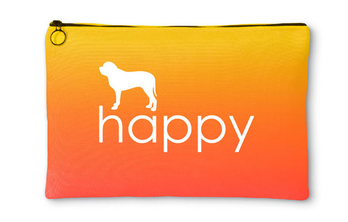 Righteous Hound - Happy Mastiff Accessory Pouch