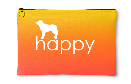 Righteous Hound - Happy Saint Bernard Accessory Pouch