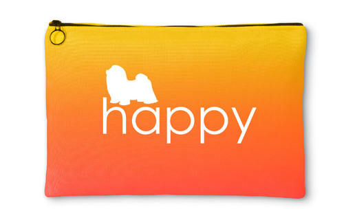 Righteous Hound - Happy Shih Tzu Accessory Pouch