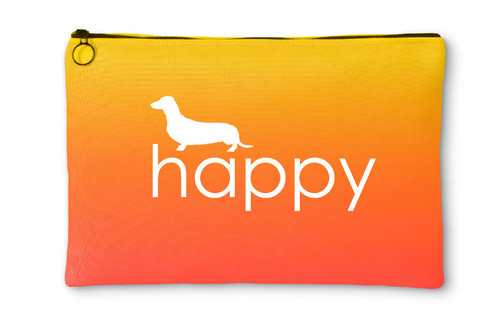 Righteous Hound - Happy Dachshund Accessory Pouch