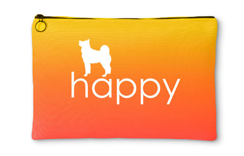 Righteous Hound - Happy Akita Accessory Pouch
