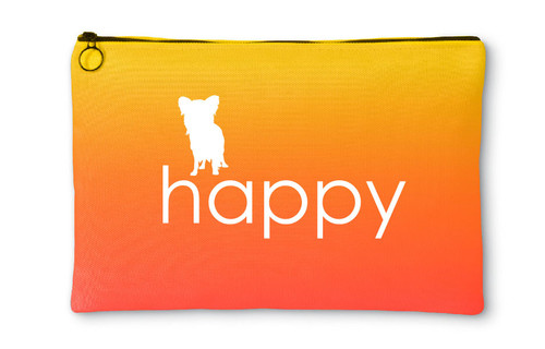 Righteous Hound - Happy Papillon Accessory Pouch