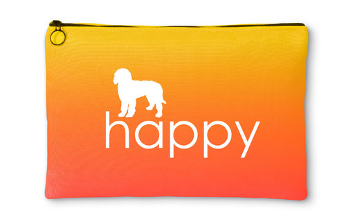 Goldendoodle Happy Accessory Pouch