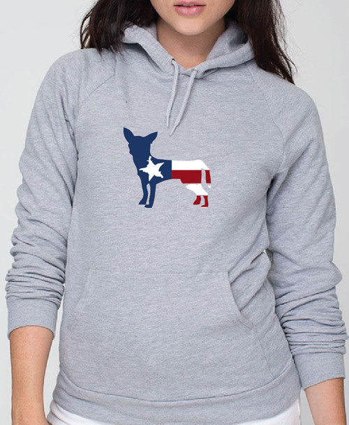 Righteous Hound - Unisex Patriot Chihuahua Hoodie
