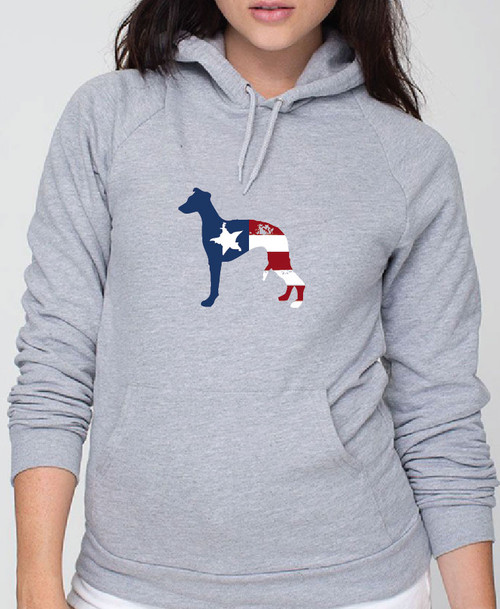 Righteous Hound - Unisex Patriot Whippet Hoodie