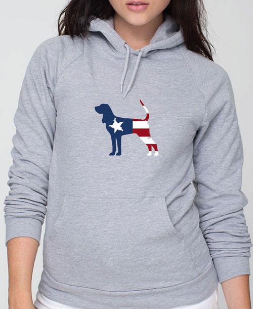 Righteous Hound - Unisex Patriot Coonhound Hoodie