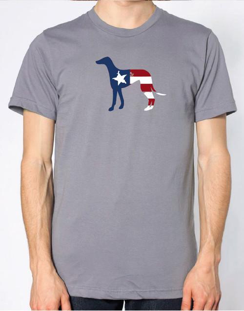 Righteous Hound - Men's Patriot Greyhound T-Shirt