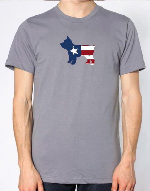 Righteous Hound - Men's Patriot Yorkie T-Shirt