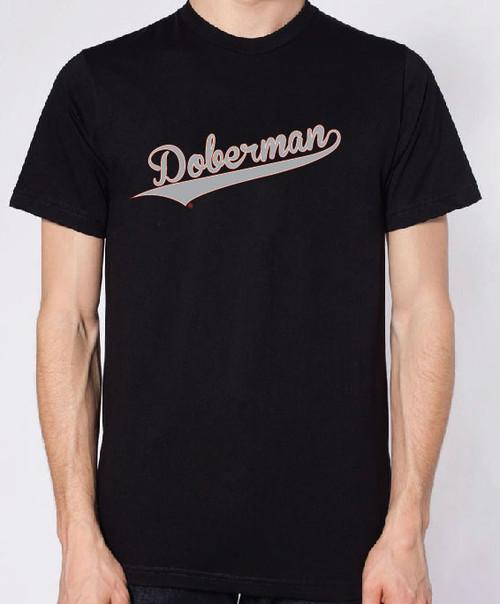 Righteous Hound - Men's Varsity Doberman T-Shirt
