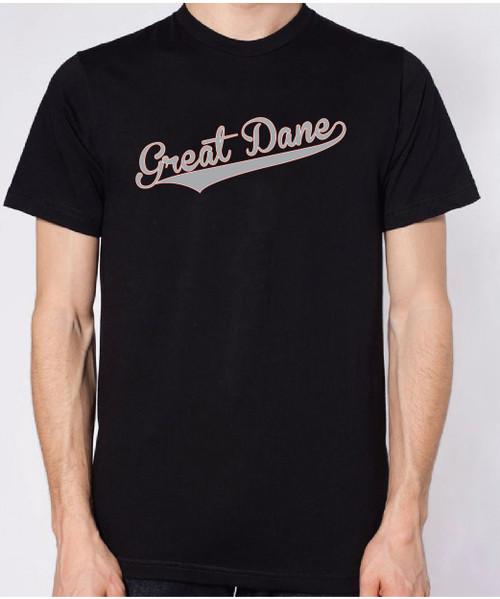 Righteous Hound - Unisex Varsity Great Dane T-Shirt