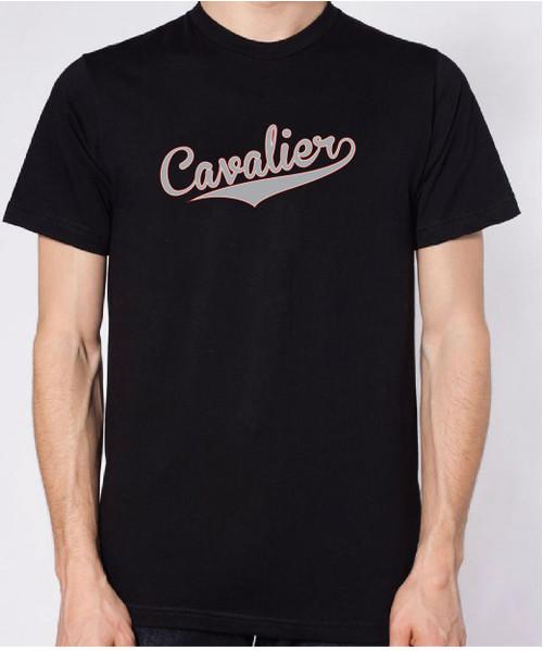 Righteous Hound - Unisex Varsity Cavalier King Charles Spaniel T-Shirt