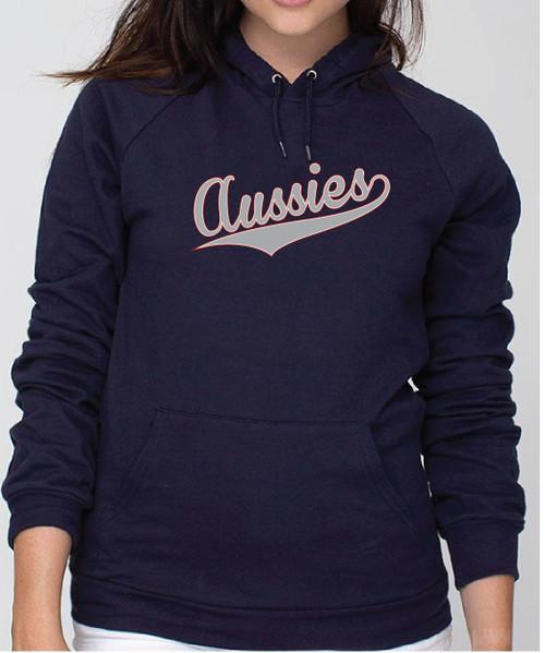 Righteous Hound - Unisex Varsity Australian Shepherd Hoodie
