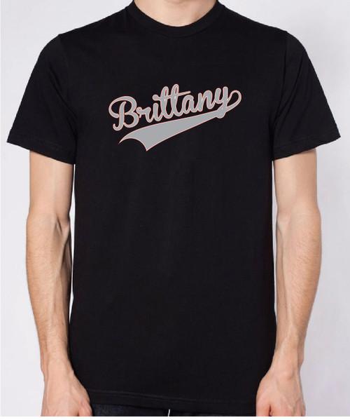 Righteous Hound - Unisex Varsity Brittany T-Shirt