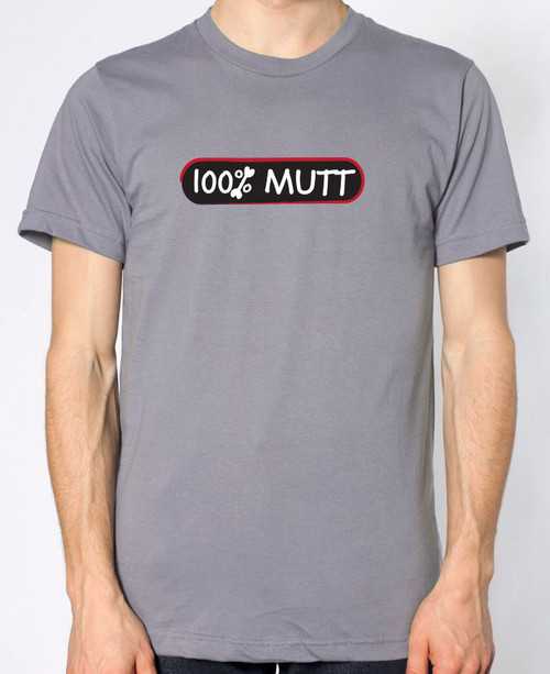 Righteous Hound Men's 100% Mutt T-Shirt