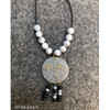 Round face necklace