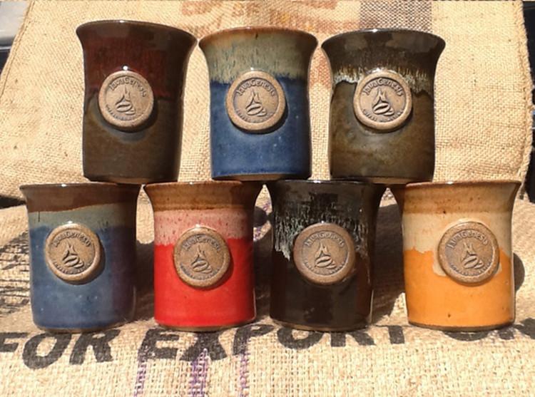 JavaGenesis Pottery Mug
