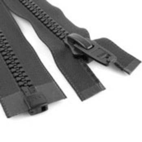 Image for #10 Marine Zipper Black 48 At Fabric Warehouse