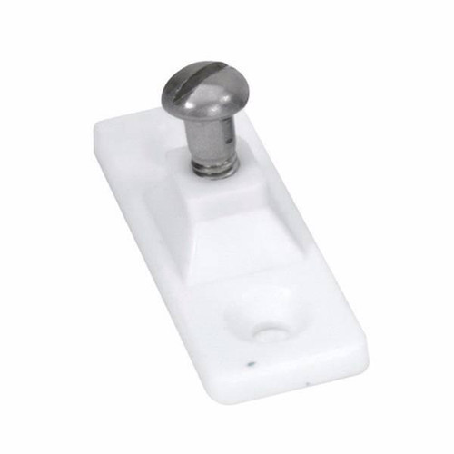Image #1 of Two hole side mount deck hinge WHITE for Fabric Warehouse